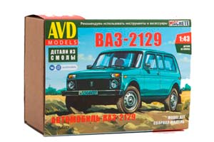 MODEL KIT VAZ-2129 NIVA (USSR RUSSIA) | СБОРНАЯ МОДЕЛЬ ВАЗ-2129 НИВА