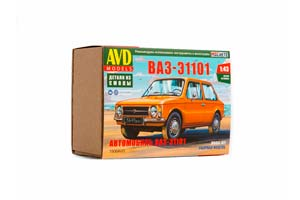 MODEL KIT VAZ-A1101 (USSR RUSSIA) | СБОРНАЯ МОДЕЛЬ ВАЗ-Э1101 *СБОРНАЯ МОДЕЛЬ