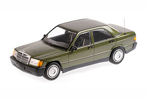 MERCEDES W201-190E 1982 GREEN METALLIC
