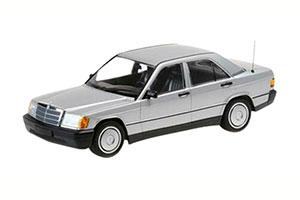 MERCEDES-190E W201 1982 SILVER