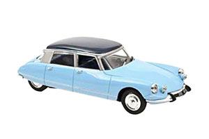 CITROEN DS 21 PALLAS 1967 MONTE CARLO BLUE/ORIENT BLUE ROOF