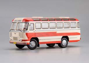 Pavlovsk Bus (PAZ) Type 652-Leningrad Intourist Павловский Автобус (ПАЗ) Тип 652-Ленинград Интурист 1958 Limited Edition 480 pcs.