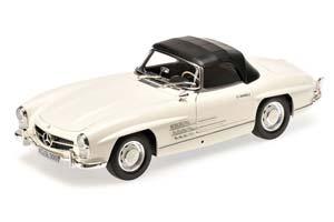 MERCEDES W198 300 SL ROADSTER 1957 WHITE
