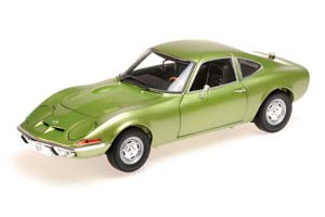 Opel GT 1900 1972 Light Green Metallic Limited Edition 600 pcs.