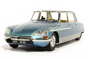 Citroen DS 21 Chapron Lorraine 1969 Blue (With Working Lights)