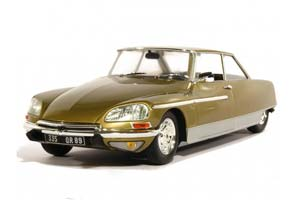 Citroen DS 21 Chapron Le Leman 1968 Yellow (With Working Lights)