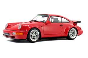 PORSCHE 911 (964) TURBO 3.6 1990 RED