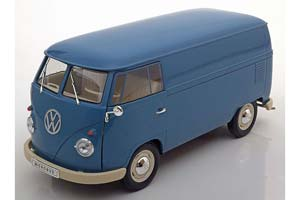 VW VOLKSWAGEN T1 BUS PANEL VAN 1963 BLUE