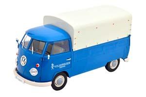 VW VOLKSWAGEN T1 PICK UP VOLKSWAGEN SERVICE 1950 BLUE/WHITE *ФОЛЬКСВАГЕН ФОЛЬЦВАГЕН