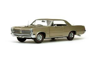PONTIAC GTO 1965 GREY/GOLDEN METALLIC *ПОНТИАК