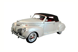 LINCOLN ZEPHYR CONVERTIBLE COUPE 1939 WHITE *ЛИНКОЛЬН