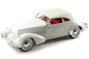 CORD 812 SUPERCHARGER 1937 WHITE