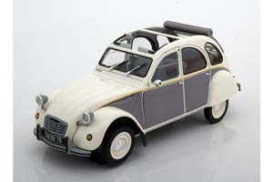 CITROEN 2CV DOLLY 1985 WHITE/CORMORAN GREY