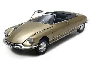 Citroen DS19 Convertible 1961 Light Brown Metallic