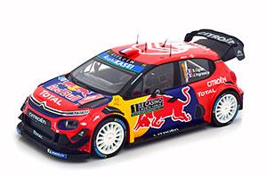 CITROEN C3 WRC #1 S.OGIER/J.INGRASSIA WINNER RALLY MONTE-CARLO 2019 *СИТРОЕН СИТРОЭН