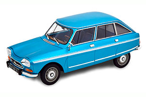 CITROEN AMI SUPER 1974 DELTA BLUE METALLIC