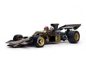 Lotus 72D Winner GP Austria World Champion 1972 JPS Fittipaldi Limited Edition 3000 pcs. Black/Yellow