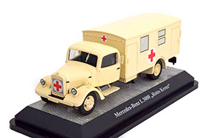 MERCEDES L3000 MILITARY RED CROSS 1942 *BENZ BENC МЕРСЕДЕС БЕНС МЕРСИДЕС МЕРСЕДЕЗ БЕНЦ