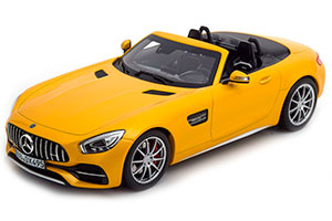MERCEDES R190 AMG GT C ROADSTER 2017 YELLOW METALLIC