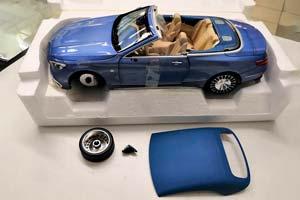 MERCEDES MAYBACH S650 CABRIO 2019 LIGHT BLUE METALLIC(БРАК)