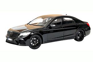 MERCEDES W222 S-CLASS AMG-LINE (V222) 2018 BLACK