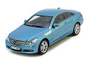 Mercedes C207 E-Class E500 Coupe 2009 Light Blue