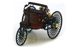 MERCEDES PATENT-MOTORWAGEN 1886 GREEN