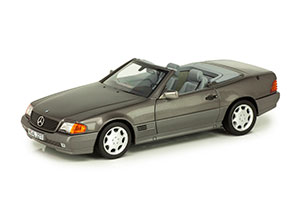 MERCEDES W129 500SL R129 1989 GREY METALLIC *BENZ BENC МЕРСЕДЕС БЕНС МЕРСИДЕС МЕРСЕДЕЗ БЕНЦ