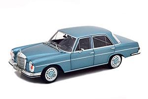 MERCEDES W108 280SE 1968 LIGHT BLUE METALLIC