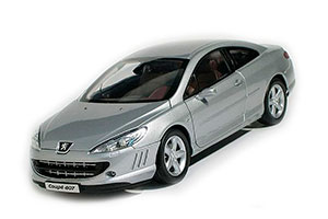 PEUGEOT 407 COUPE 2007 SILVER