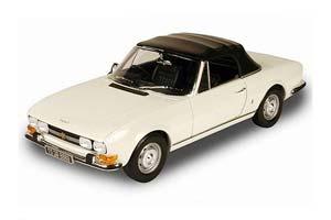 Peugeot 504 Cabriolet 1970 White