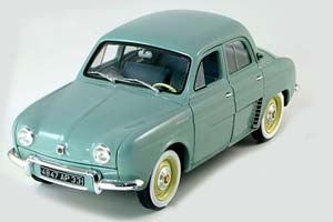 RENAULT DAUPHINE ROUGE 1958 GRAY
