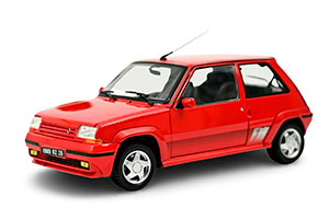RENAULT 5 SUPERCINQ GT TURBO 1989 RED *РЕНО