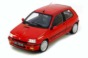 RENAULT CLIO 16S S1 1991 RED