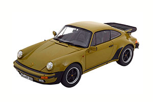 PORSCHE 911 TURBO 3.3L (930) 1987 OLIVE GREEN