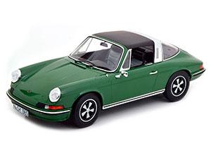 PORSCHE 911 S TARGA 1973 GREEN