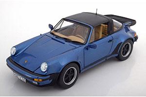 PORSCHE 911 (930) TURBO TARGA 3.3L1987 BLUE METALLIC