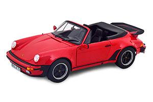 PORSCHE 911 TURBO CABRIOLET (930) 1987 RED *ПОРШЕ ПОРШ