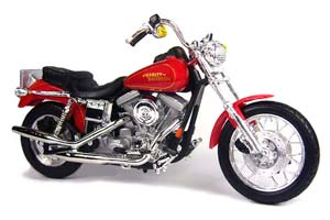 HARLEY-DAVIDSONFXDL DYNA LOW RIDER 2000 RED METALLIC