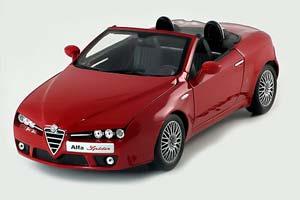 Alfa Romeo Spider 2006 Red