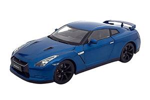 NISSAN GT-R (R-35) 2008 BLUE METALLIC