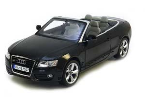 Audi A5 Cabriolet 2009 Black Metallic