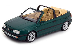 VW GOLF III CABRIOLET 1995 GREEN METALLIC