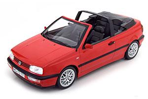 VW VOLKSWAGEN GOLF III CABRIOLET 1995 RED