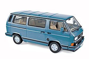 VW VOLKSWAGEN T3 MULTIVAN BUS 1990 LIGHT BLUE METALLIC *ФОЛЬКСВАГЕН ФОЛЬЦВАГЕН