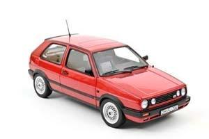 VW GOLF II GTI (3-DOORS) 1990 RED METALLIC