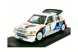 PEUGEOT 205 T16 Evo 2 #8 B.Saby/Fauchille Rally Monte Carlo 1986 *ПЕЖО ПИЖО ПЫЖ