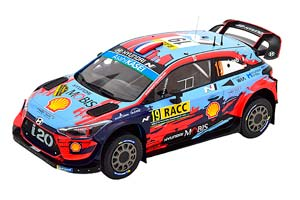 HYUNDAI I20 COUPE WRC #19 LOEB/ELENA RALLY CATALUNYA 2019