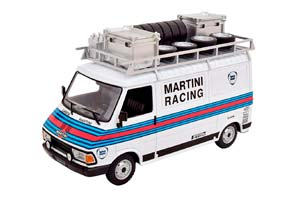 FIAT 242 MARTINI RALLY TEAM ASSISTANCE 1986 WHITE