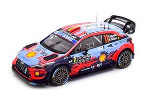 HYUNDAI I20 COUPE WRC #11 NEUVILLE/GILSOUL WINNER RALLY MONTE CARLO 2020